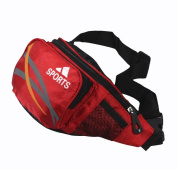 Blancho Bedding WF001-RED Sport Edition Multi-Purposes Fanny Waist Pack / Back Pack / Travel Lumbar Pack