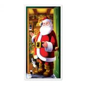 Beistle 207881 Santa Door Cover