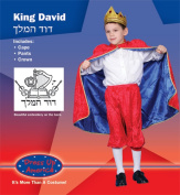 Dress Up America Deluxe King David Costume Set Medium 8-10 234-M