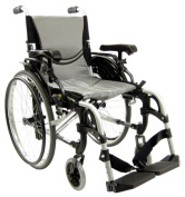 Karman Healthcare S-Ergo305Q16SS Ergonomic Wheelchair-Pearl Silver
