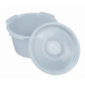 BRIGGS HEALTHCARE 802-1209-1900 PAIL UNIVERSAL with LID 6.6l