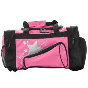 Pizzazz Performance Wear B100 -HPK -L B100 Megaphone Duffle Bag - Hot Pink - Large