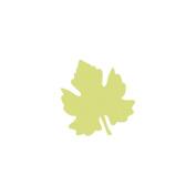 Paper Blossoms Lever Punch-Grape Leaf, 3.2cm x 3.5cm