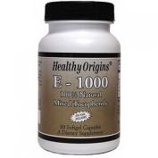 Healthy Origins 0626051 E-1000 - 1000 IU - 60 Softgels