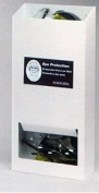 Horizon Manufacturing 5144-W 20-Pair Visitor Safety Glasses Dispenser No Lid - White Heavy- Duty Plastic