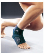 M-Brace 16S Extra Ankle Lock Support Brace - Blue - Size Small