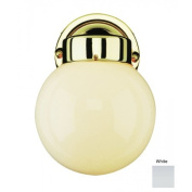 Trans Globe Lighting 4950 WH 1 Light Coach Lantern - WHITE