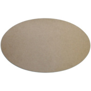 MPI MDFP-117 Unfinished MDF Plaque 1-Pkg-Oval 7. 190cm x 12. 13cm
