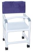 MJM International 118-3-F-LSB-18 Shower Chair