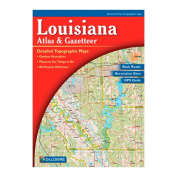 Delorme 240018 Louisiana Atlas and Gazetteer