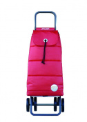 Rolser 8420812924646 PAC024 Logic Shopping Trolley Pack Polar - Red - 2 Units