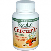 Kyolic 0523563 Aged Garlic Extract Curcumin Healthy Inflammation Response - 50 Capsules