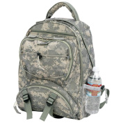 Extreme Pak LUBPSD Digital Camo Water Repellent Backpack