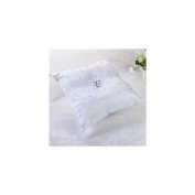 Lillian Rose RP123 W Pearl Ring Pillow-White
