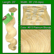 Brybelly Holdings PRBD-20-613 No. 613 Platinum - 50cm Body Wave