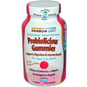 Rainbow Light 0700344 Probiolicious Gummies Natural Cranberry - 50 Gummies