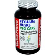 Yerba Prima 0279885 Psyllium Husks Veg Caps - 625 mg - 180 Vegetarian Capsules