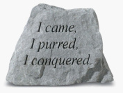 Kay Berry- Inc. 71920 I Came-I Purred-I Conquered - Memorial - 3.5 Inches x 3 Inches