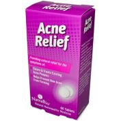 Natra-Bio 0737759 Acne Relief - 60 Tablets
