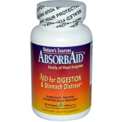 Absorbaid 0687145 Natures Sources Digestive Support - 90 Vcaps