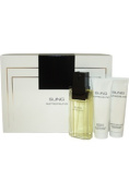 Sung by Alfred Sung for Women - 3 Pc Gift Set 100ml EDT Spray 70ml Essential Body Lotion 70ml Refreshing Shower Gel