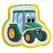 Motorhead Products MH-8910 Kids Plate - Johnny Tractor