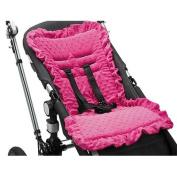 Baby Bee-Haven Cush n' Go Memory Foam Stroller Liner, Pink