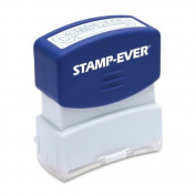 Stamp-Ever Pre-Inked Message Stamp, Completed, Stamp Impression Size