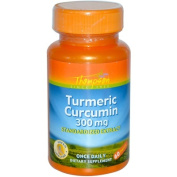 Thompson Nutritional 0660027 Turmeric Curcumin - 300 mg - 60 Capsules