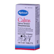 Hylands Homoeopathic 0131789 Calms - 100 Tablets