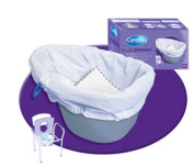 Clarke Health Care C7831738CS CAREBAG COMMODE LINER ROUND -CASE
