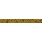 C'est Joli! Galon Akoya Braid Ribbon, 1cm x 3-1/4 yds, Mustard