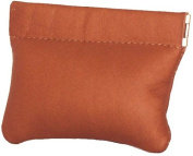 David King& Co 441T Facile Coin Purse- Tan