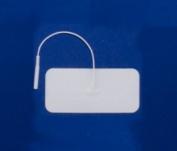 Pepin WF13 Advantrode Foam - 4.4cm X 9.5cm Rectangle Prewired Electrode - 20 Packs Of 4