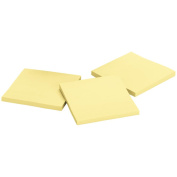 Post-It Super Sticky Notes 7.6cm x 7.6cm 45 Sheets/Pad 3 Pads/Pkg-Canary Yellow