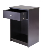 Winsome Trading 92916 Squamish Accent table with 1 Drawer Espresso Finish