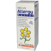 Natra-Bio 0897199 Childrens Allergy Relief - 1 fl oz