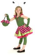 Princess Paradise Pink Lady Bug Child Costume Size Medium