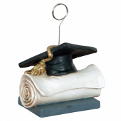 Beistle 50824 Grad Cap Photo And Balloon Holder - Pack of 6
