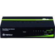 TRENDnet 5-Port Unmanaged 10/100 Mbps GREENnet Ethernet Desktop Metal Housing Switch, TE100-S50g