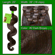 Brybelly Holdings PRBD-20-2 No. 2 Dark Brown - 50cm Body Wave
