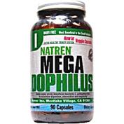 Natren 0494997 Mega Dophilus Dairy Free - 90 Vegetarian Capsules