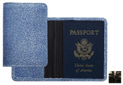Raika NI 115 BLK Passport Cover - Black