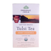 Organic India 0125484 Tulsi Tea Honey Chamomile - 18 Tea Bags