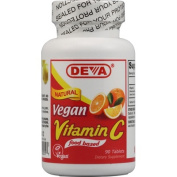 Deva Vegan Vitamins 0151662 Vitamin C - 90 Tablets
