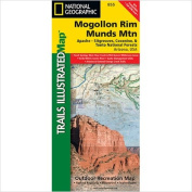 National Geographic Maps TI00000855 Mogollon Rim and Munds Mountain Wilderness Apache-Sitgreaves Coconino and Tonto Forests Map