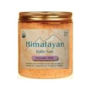 Himalayan Salt 0827048 Aloha Bay Bath Salt Lavender Hills - 24 oz