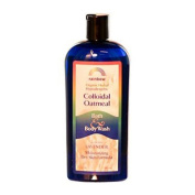 Rainbow Research 0581777 Colloidal Oatmeal Bath and Body Wash Lavender - 12 fl oz