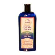Rainbow Research 0581777 Colloidal Oatmeal Bath and Body Wash Lavender - 12 fl oz