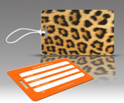 Insight Design 770467 TagCrazy Luggage Tags- Leopard Print- Set of Three